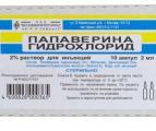 инструкция папаверина гидрохлорид